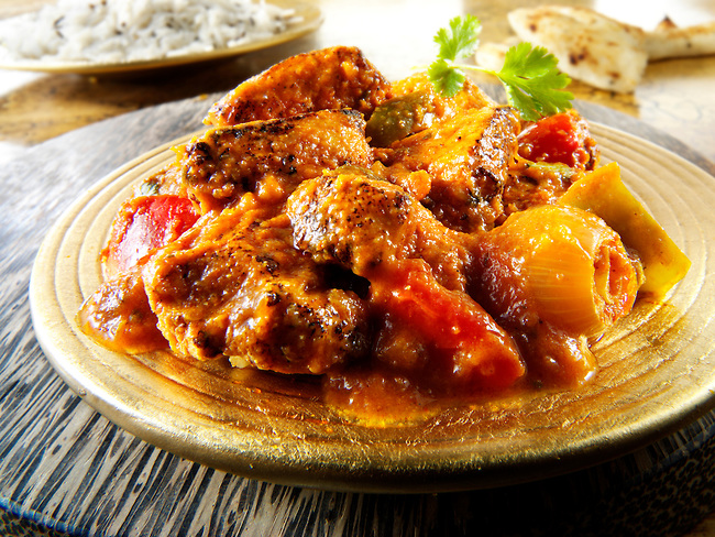 Mutton Jalfrezi  Food Fusion