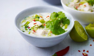 Coconut Soup Chicken