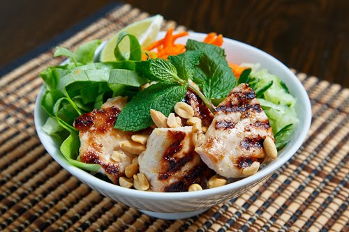 Chicken Lemongrass Salad